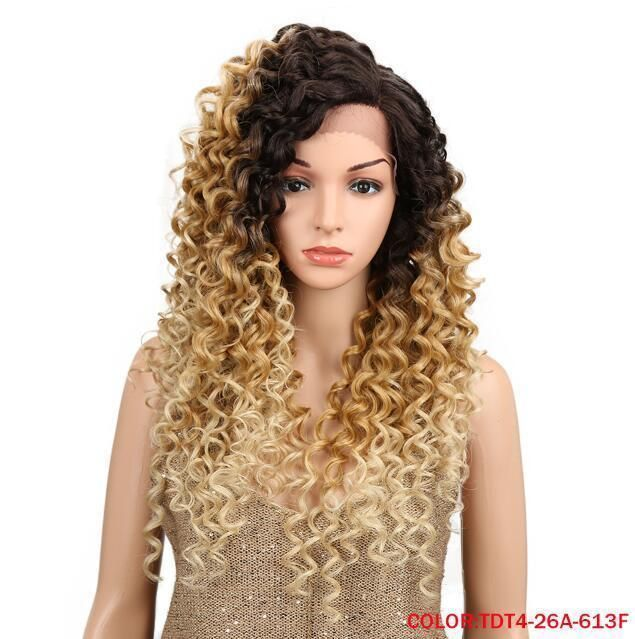 Blonde Ombre Synthetic Wigs